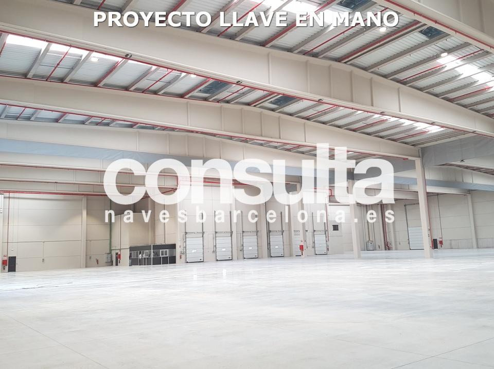 Proyecto logístico Llave en mano en alquiler en La Garriga