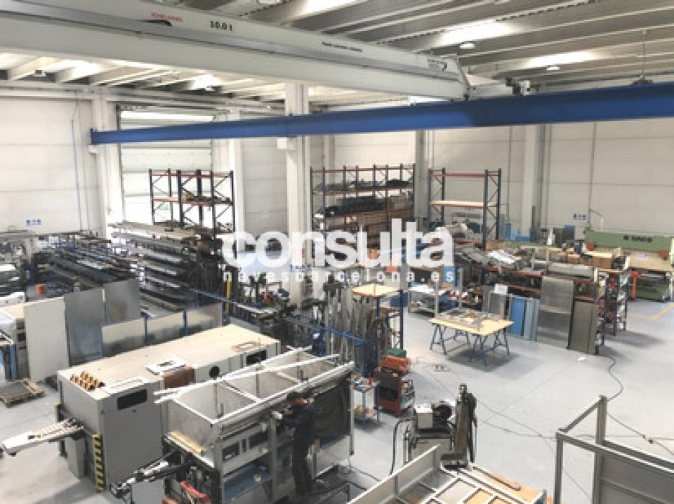 Nave industrial alquiler en Tona