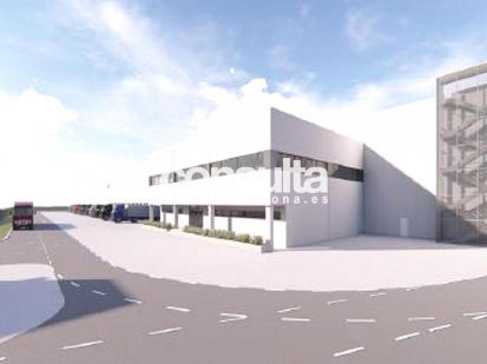 nave logistica en construccion alquiler castellbisbal 2